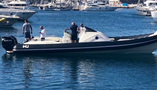 Perfect Sailing Vacation Day On A Rib In Maltese Islands, Malta