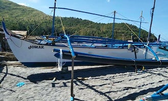 Traditional Boat Trips in San Antonio, Zambales for 20 People!
