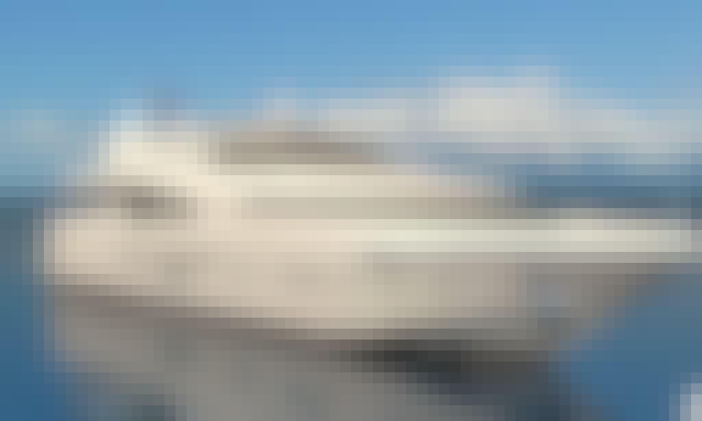 "Charter this luxurious ""Superstar Santa"" Power Mega Yacht in Chon Buri, Thailand"