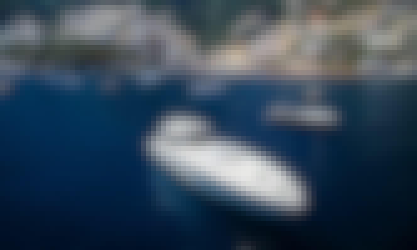 "The marvelous luxury yacht ""Exuma"" Baia 59 for charter in Sorrento, Campania"