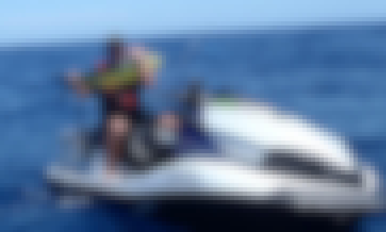 Jet Ski Fishing Safari at Bribie Island in Queensland, Australia