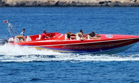 Speed Boat Rental In Maltese Islands, Malta For 20 Person
