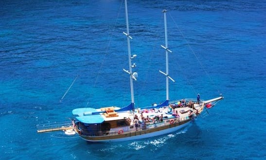 65ft Turkish Gulet Rental In Maltese Islands, Malta For 80 Person