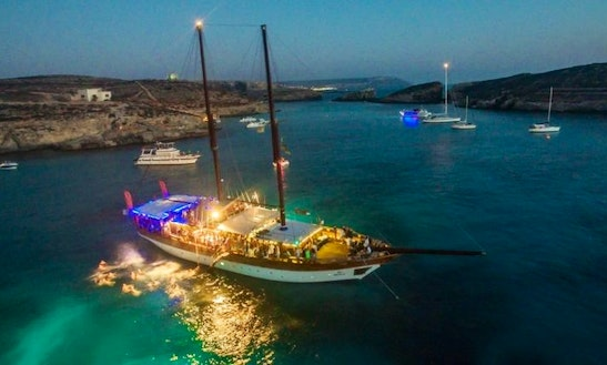 Sailing Adventure In Maltese Islands, Malta On A Turkish Gulet