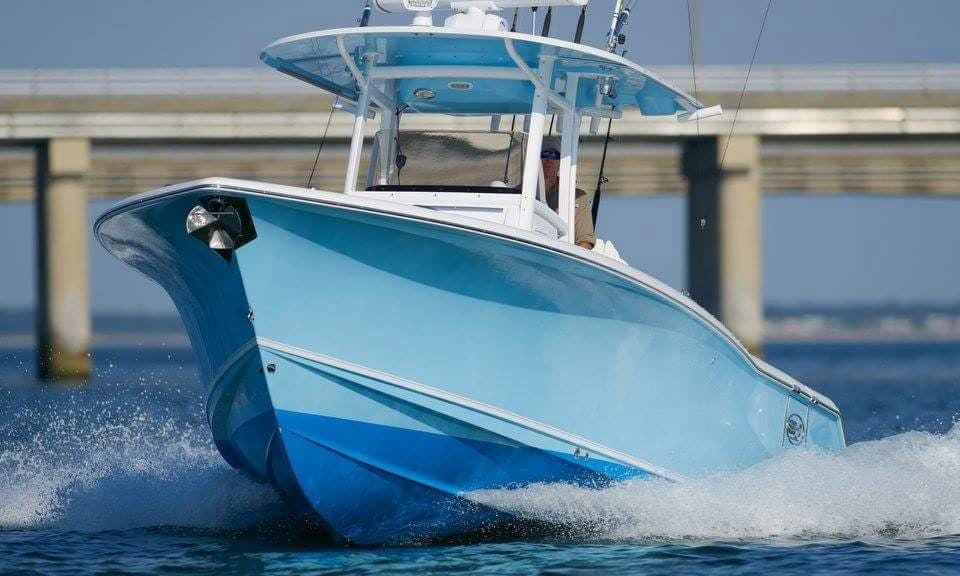 Let's go fishing in Virginia Beach, Virginia on a 30ft Center Console