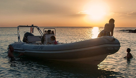 Trimarin Inflatable Boat Ready To Explore Pula, Rovinj, Rabac, Poreč And Umag