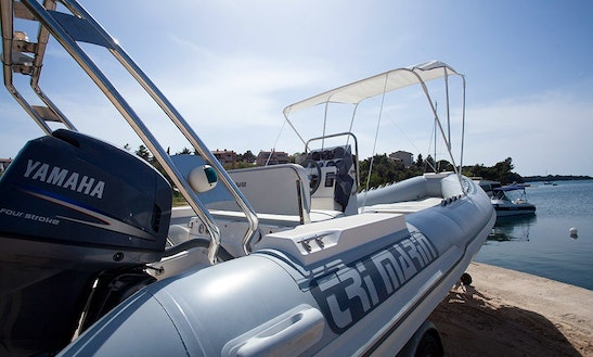 2005 Trimarin Pula Inflatable Boat Ready To Rent In Banjole, Croatia