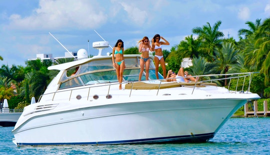 Miami Yacht Charters - 45' Sea Ray - Miami, Florida Keys, The Bahamas!