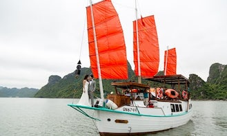 Book the Private L'Azalee Cruise in Halong Bay, Vietnam