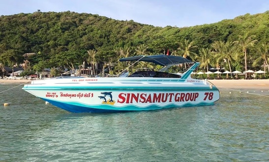 Charter A Speedboat For Sightseeing Around Koh Samet In Rayong, Thailand
