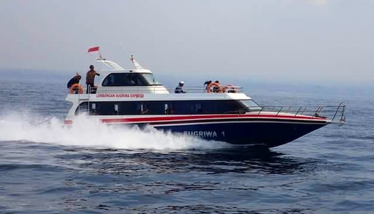 Enjoy Lembongan Day Trip On This Sang Sugriwa 2 Speedboat In Denpasar, Bali