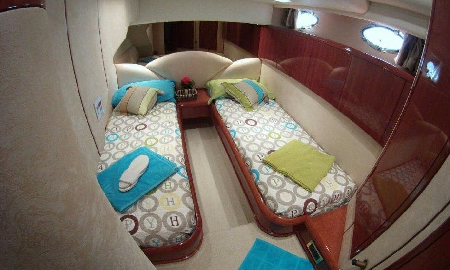 "A wonderful charter experience aboard Fairline 55 ""The Pearl"" in Batroun, Lebanon"