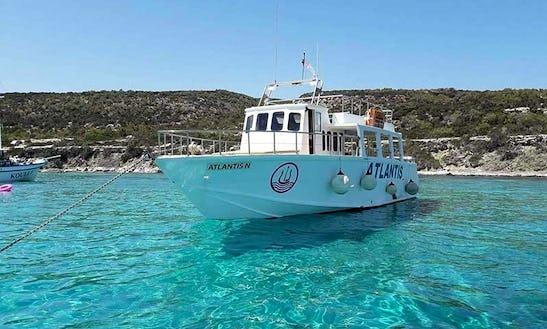 Atlantis N Paphos Cruises From Latsi To Blue Lagoon