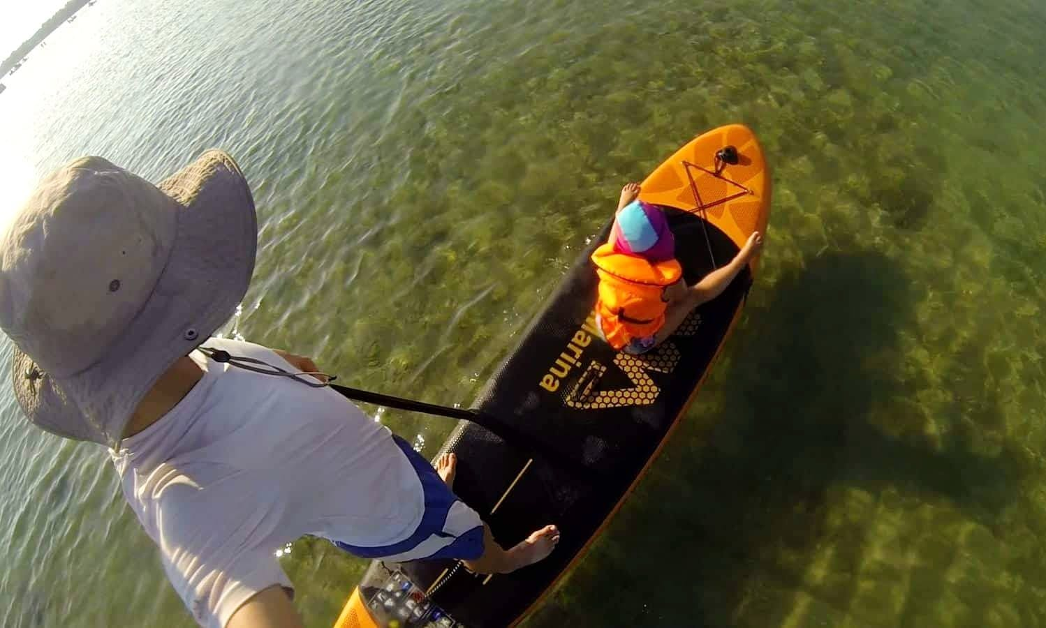 Paddleboard Adventure in Privlaka, Croatia