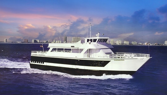 Catalina - Luxury Party Yacht In Fort Lauderdale (with Captain Only)