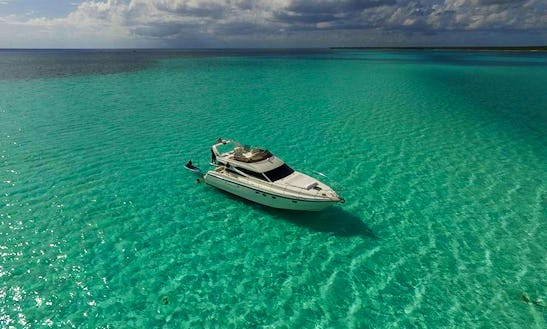 Motor Yacht Rental In Tulum Playa Del Carmen To Cozumel