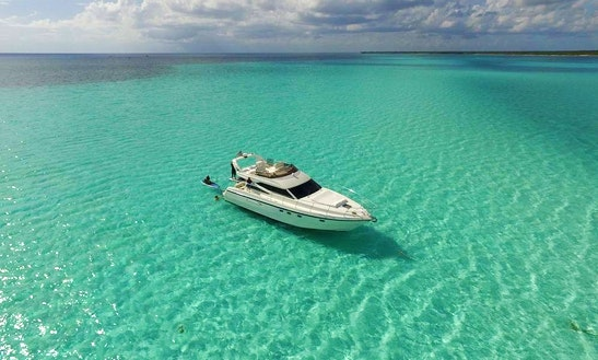 Motor Yacht Rental In Tulum Playa Del Carmen To Cozumel