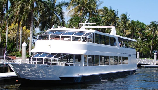 The Anticipation - Elegant Party Yacht In Fort Lauderdale