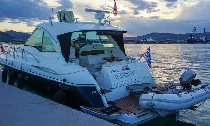43ft Sport Coupe Boat Cruisers Yachts Charter in Volos, Greece