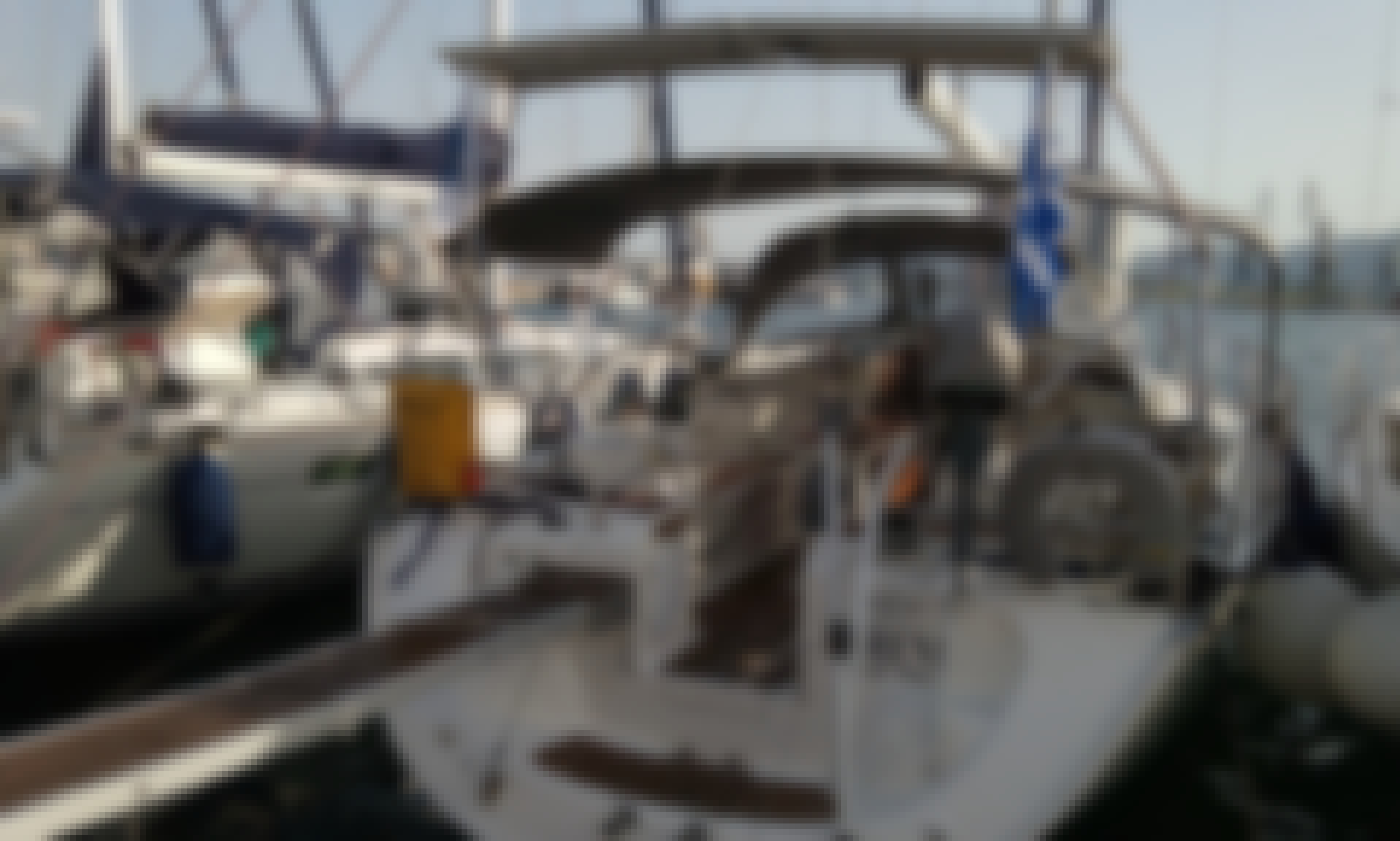 42ft Bavaria Cruiser Sailboat Charter in Volos, Greece for 8 person