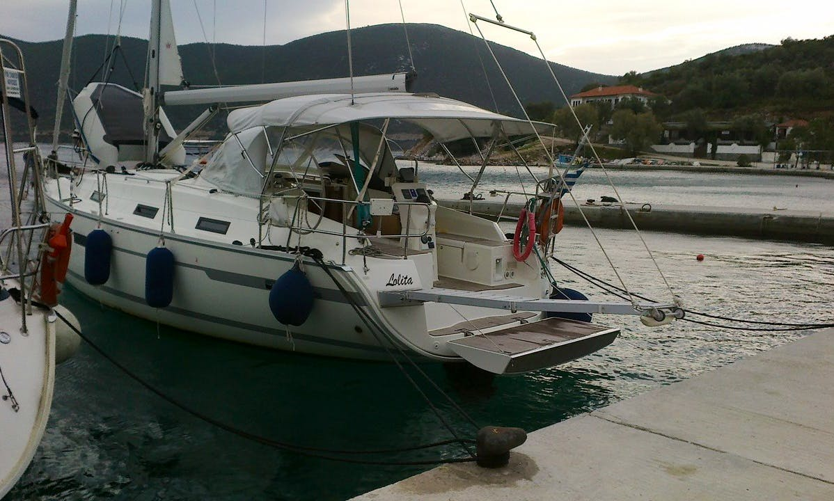 Explore Volos, Greece on a 36' Bavaria Cruiser Sailboat