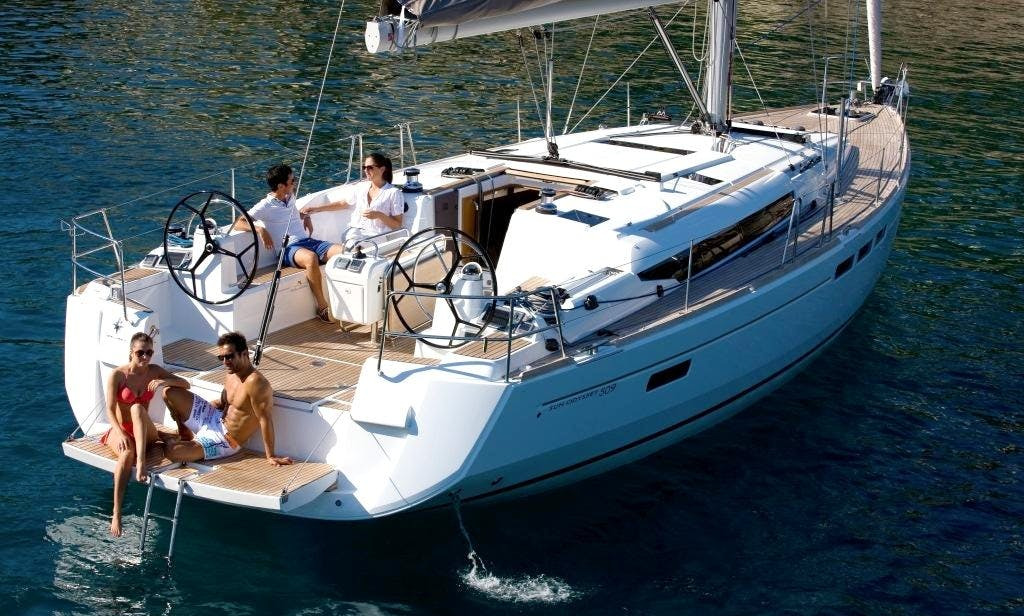 51' Jeanneau Sun Odyssey Sailing Mega Yacht Rental in Volos, Greece
