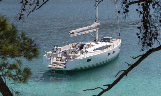 2017 Jeanneau Sun Odyssey Cruising Monohull Rental In Volos, Greece