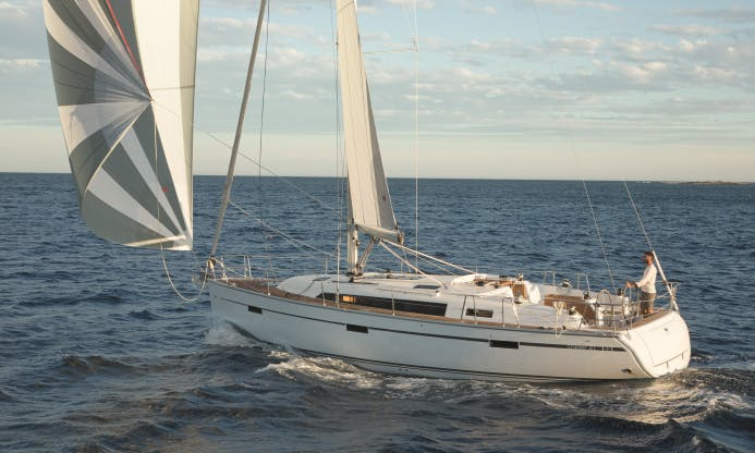 41ft Bavaria Cruiser Sailboat Charter in Volos, Greece for 8 friends!