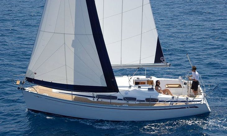 2009 Bavaria Cruiser Sailing Yacht Rental in Volos, Greece