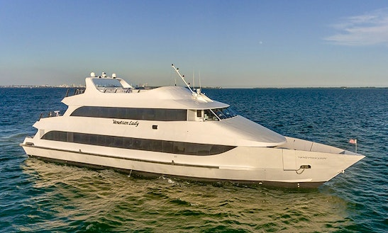 The Venetian Lady - Luxury Party Yacht In Miami And South Florida