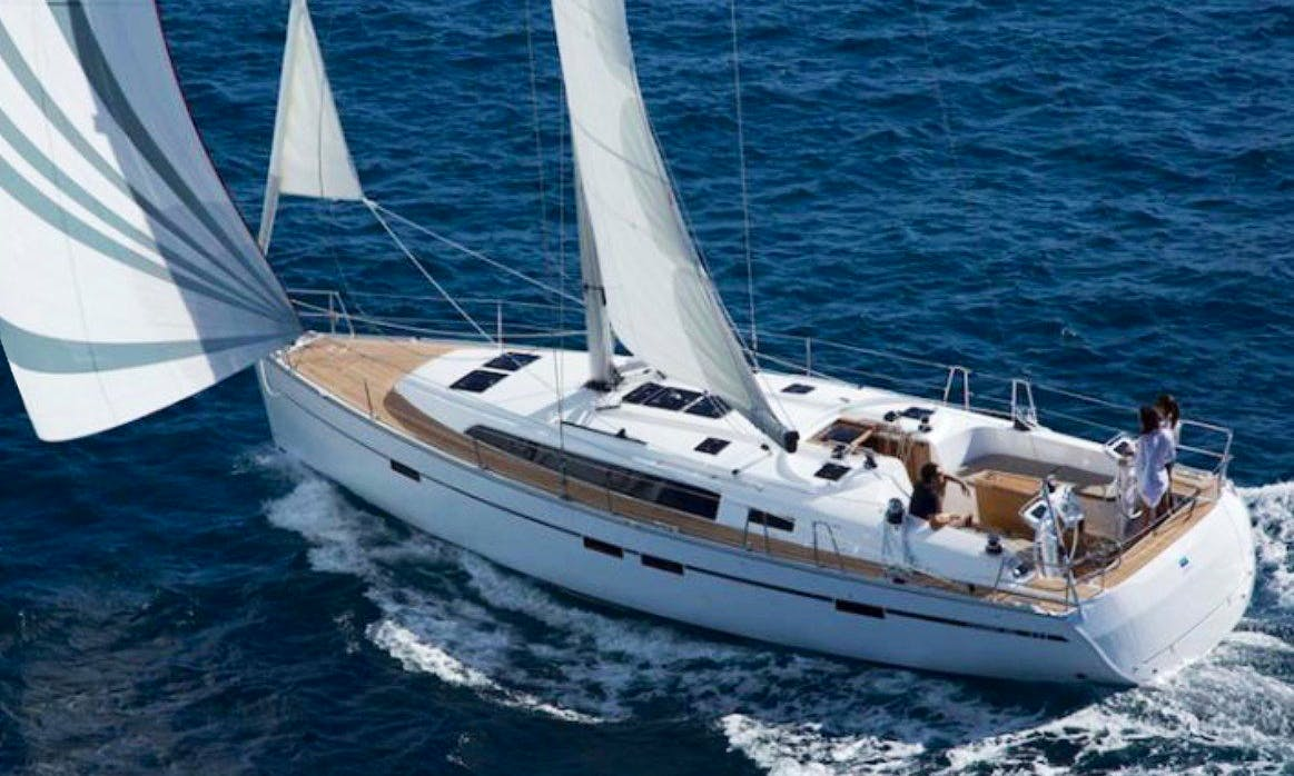 2017 Bavaria Cruiser Sailboat Rental in Volos, Greece for 10 person
