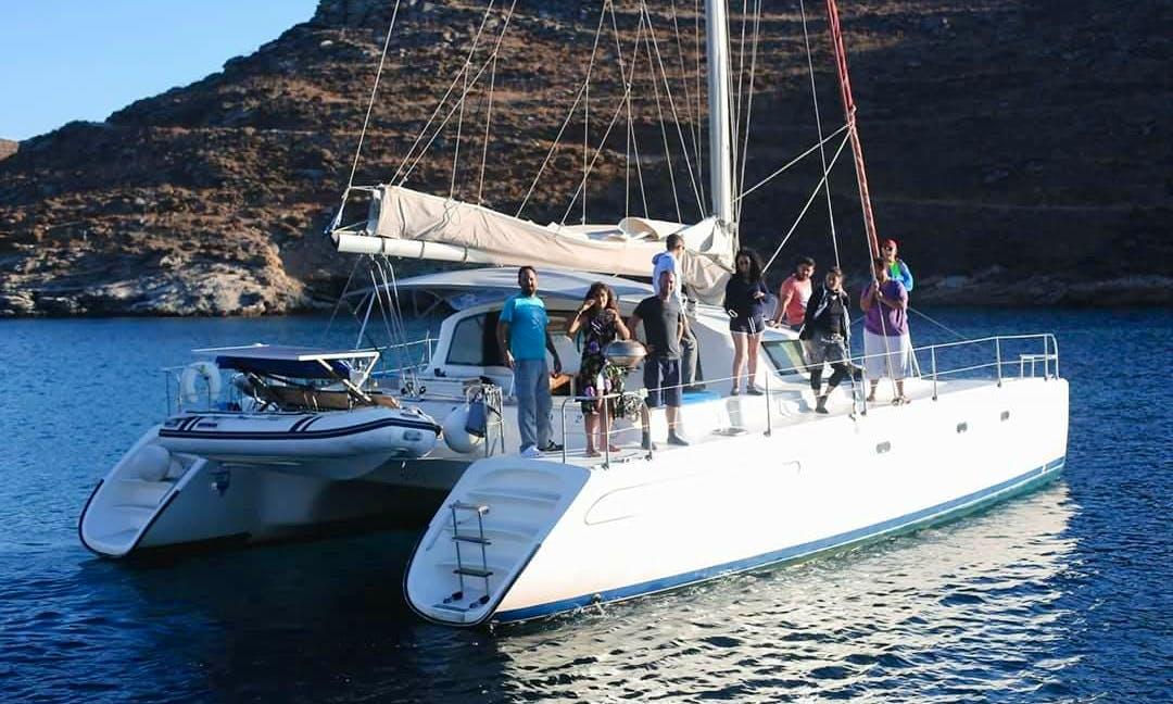 Charter a 12 person Venezia Cruising Catamaran in Volos, Greece