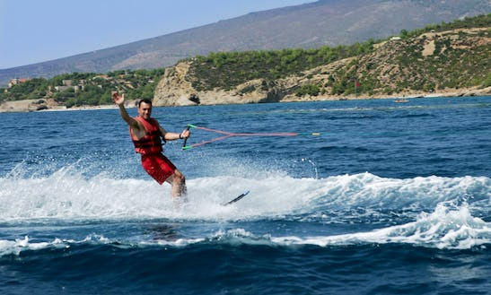 A Heart-pumping Waterskiing Experience In Pefkari, Thassos