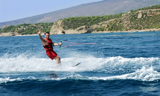 A Heart-stopping Waterskiing Experience In Pefkari, Thassos