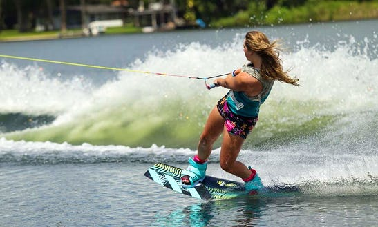 Have A Wonderful Wakeboarding Experience In Pefkari, Thassos