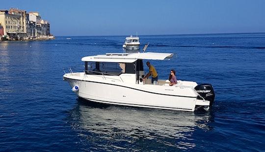 Cuddy Cabin Boat Rental In Rovinj