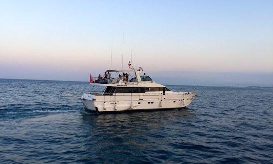 Motor Yacht Rental In Marina Smir