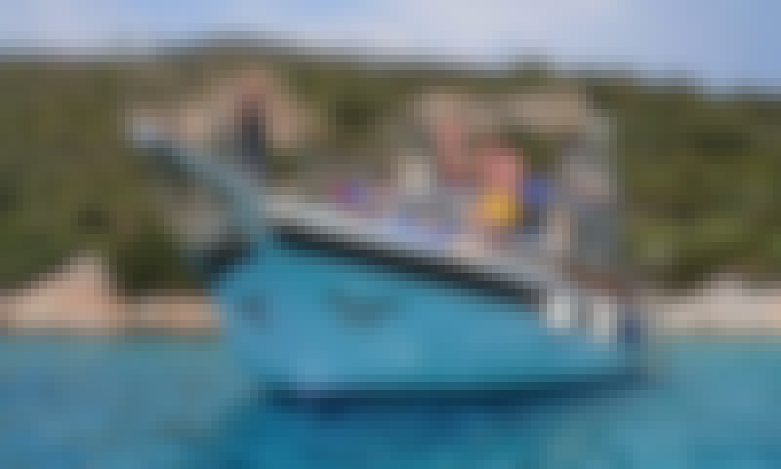 22 ft Party Boat Rental for 45 People in Bodrum, Turkey