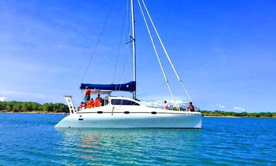 Sailabrate Aboard The 38' Fountaine Pajot For 12 Person In Sag Harbor, New York