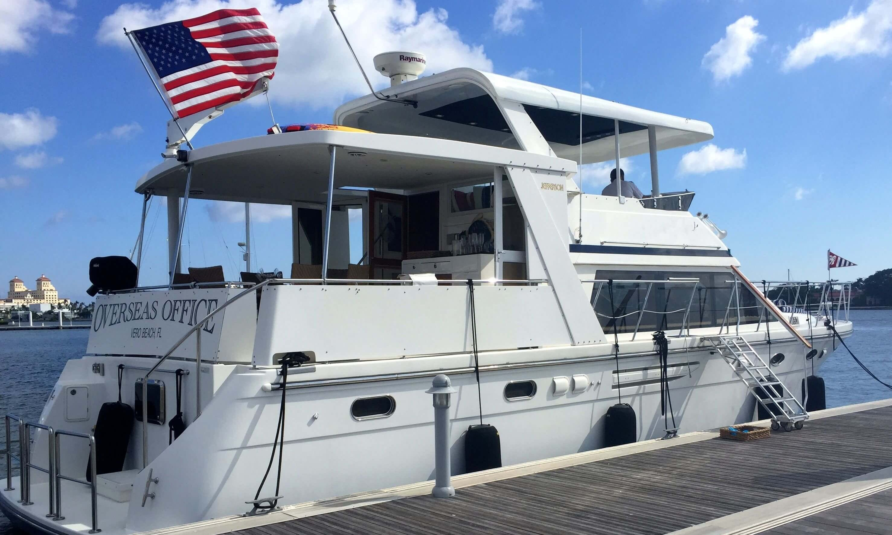 Crewed Charter a 50' Jefferson Motor Yacht for 13 Person in East Hampton, New York