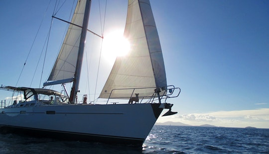 Charter The Popular 57' Beneteau Sailing Yacht For 12 Guests In Sag Harbor, New York