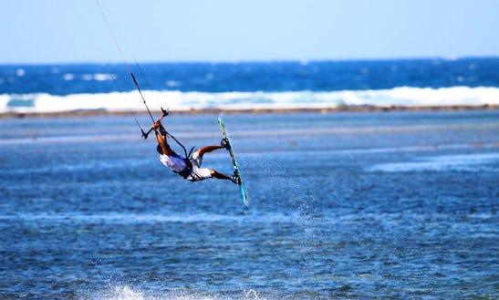 Enjoy The Experience Kiteboarding In Denpasar, Bali
