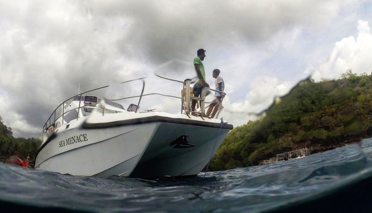Charter A Power Catamaran In Denpasar, Bali For Spearfishing