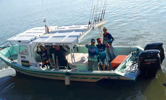 Enjoy 5 Person Cuddy Cabin Fishing Charter In Pahang, Malaysia