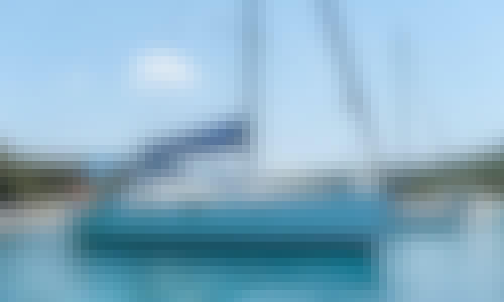 "Have fun sailing in Volos, Greece on ""Alethia"" Beneteau Oceanis 393 cruising monohull"
