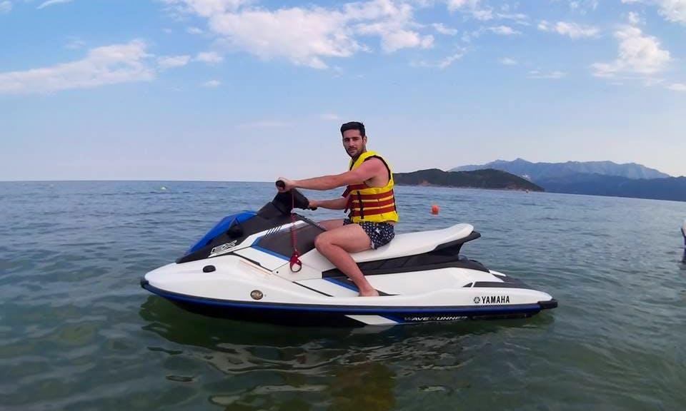 Feel the thrill of water with jet ski in Keramoti, Greece