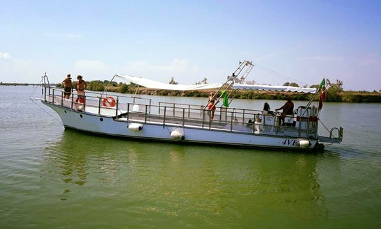 Explore Venetian Islands On A 64' Classic Passenger Boat!