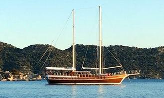 85' Gulet Victoria Yacht Charter in Sardegna & Corsica for up to 12 person! Gulet Charter Italy