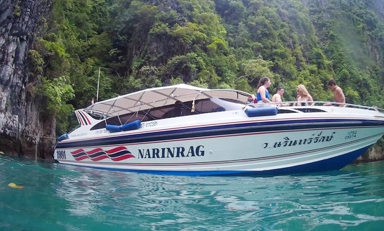 Explore Phi Phi Island With Family And Friends Aboard This 25 People Cuddy Cabin