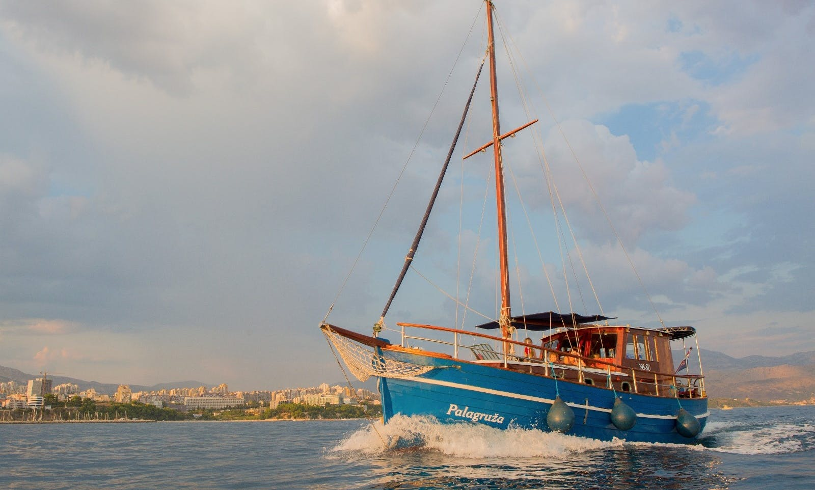 Unforgettable Boating Vacation in Split, Croatia on this Beautiful Yacht!